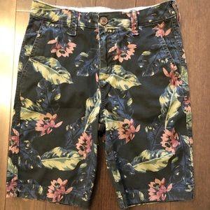 Boy's Abercrombie floral shorts